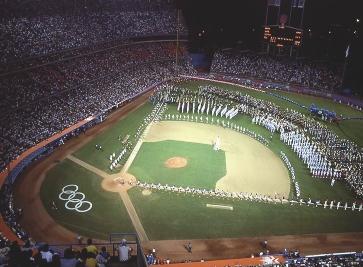 1956 Baseball Game in Melbourne U.S.A. vs. Australia