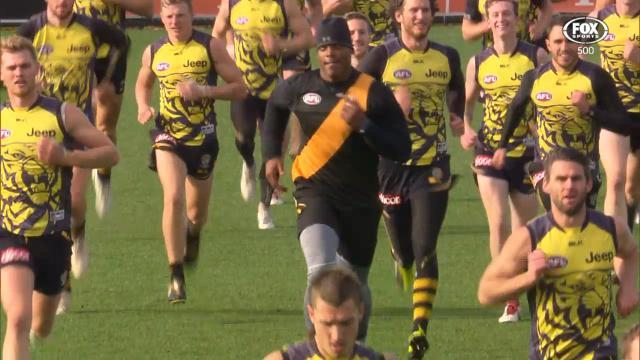 Cam Newton Visits Richmond Tigers
