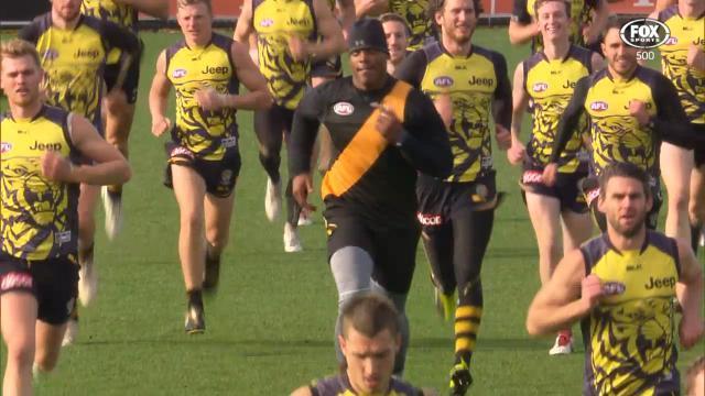 Cam Newton Visits Richmond Tigers