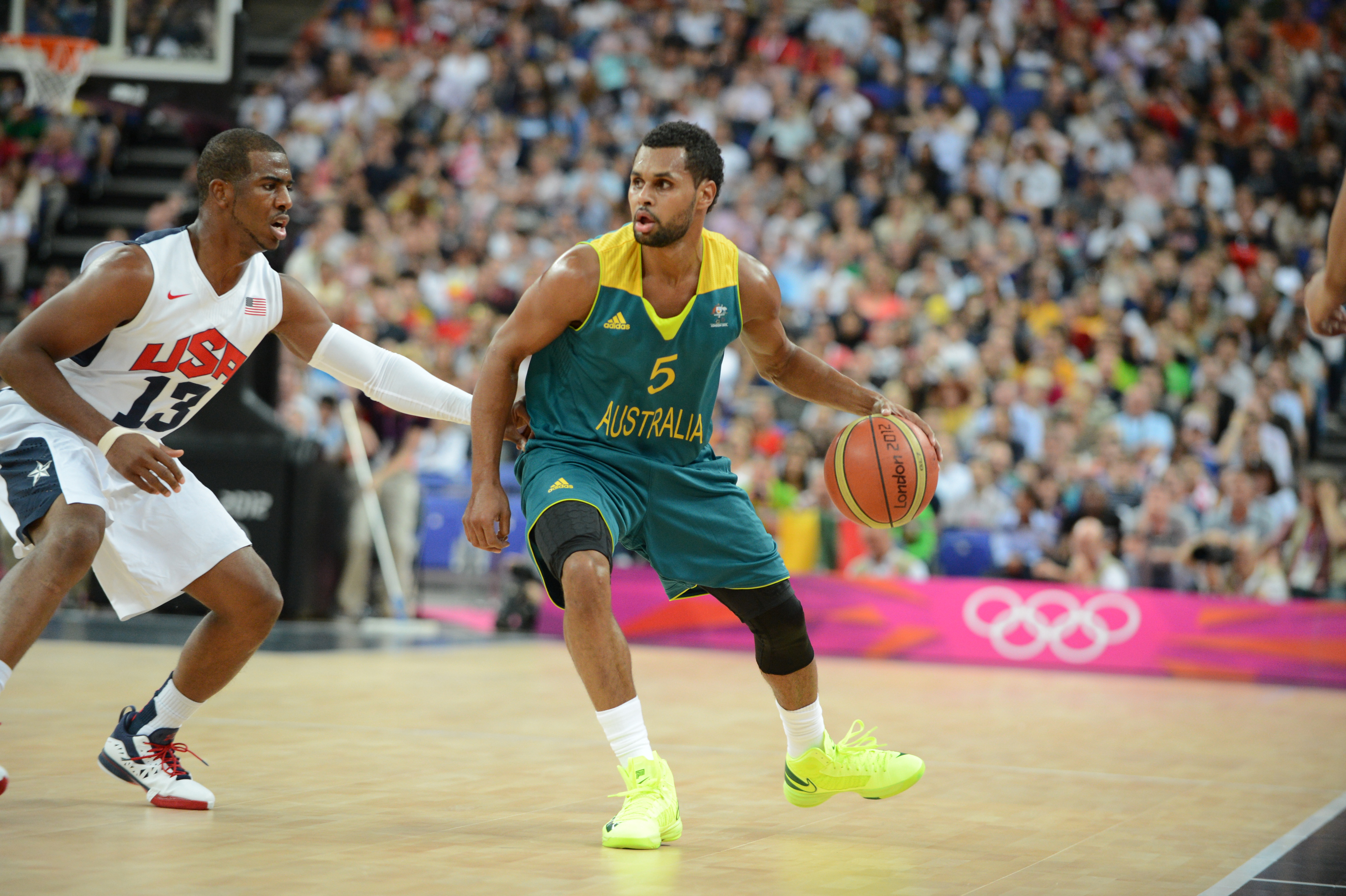 Patty Mills Australian Team