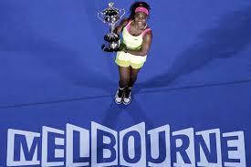 Serena Wins Australian Open