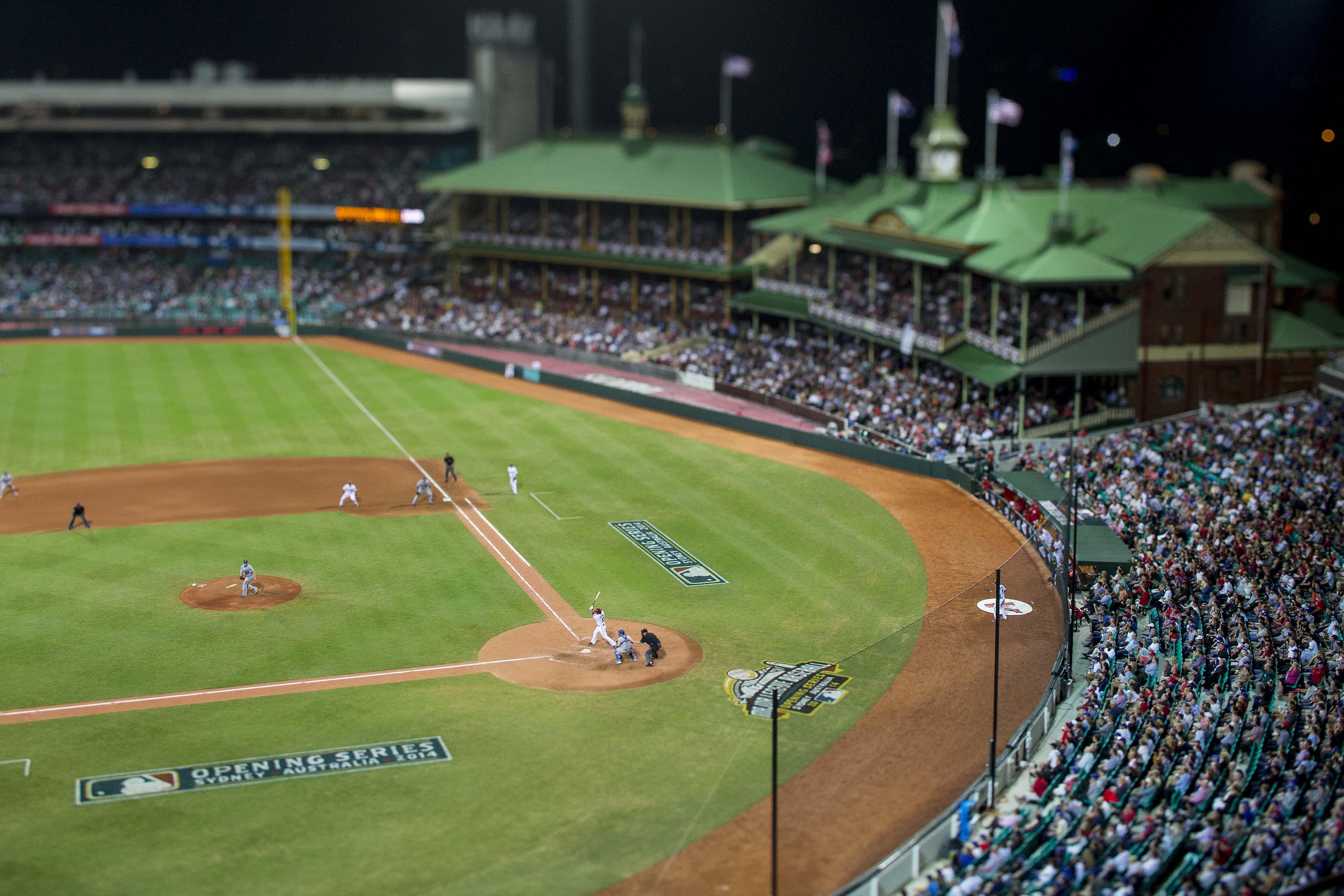 MLB in Sydney