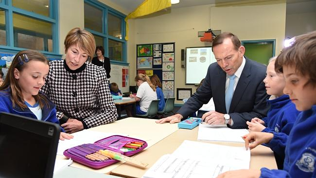 Prime Minister Abbott in the Classroom