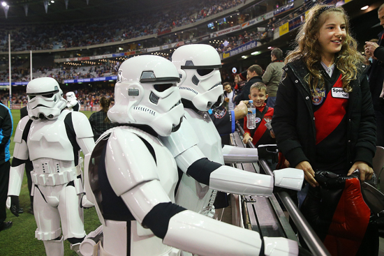 Stormtroopers at the AFL