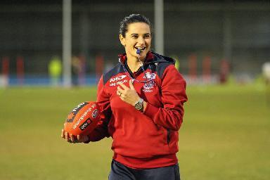 First AFL Female Coach - Peta Searle