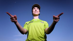 First AFL Female Umpire - Chelsea Roffey