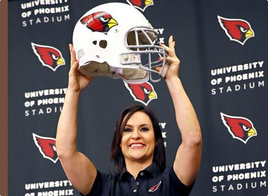First Female NFL Coach - Jen Welter