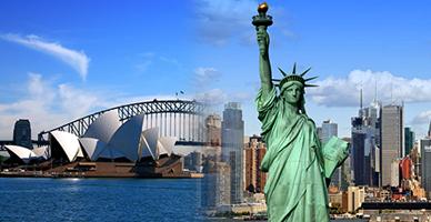 Sydney to New York